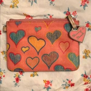 Authentic Dooney & Bourke small clutch